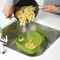 Дуршлаг Joseph Joseph Square Colander Plus Medium Зеленый 40056
