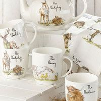 Фото Кружка Churchill Country The Nanny Bone China Mug 300 мл COPU00221