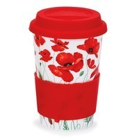 Фото Кружка Dunoon Travel Mug Poppies Red 440 мл 101002777